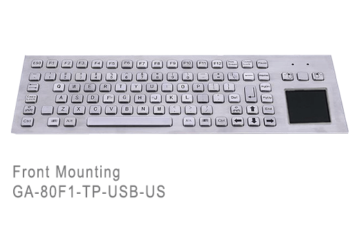 GA-Industrial-Competitive Range-80+Keys Touchpad Front Mounting