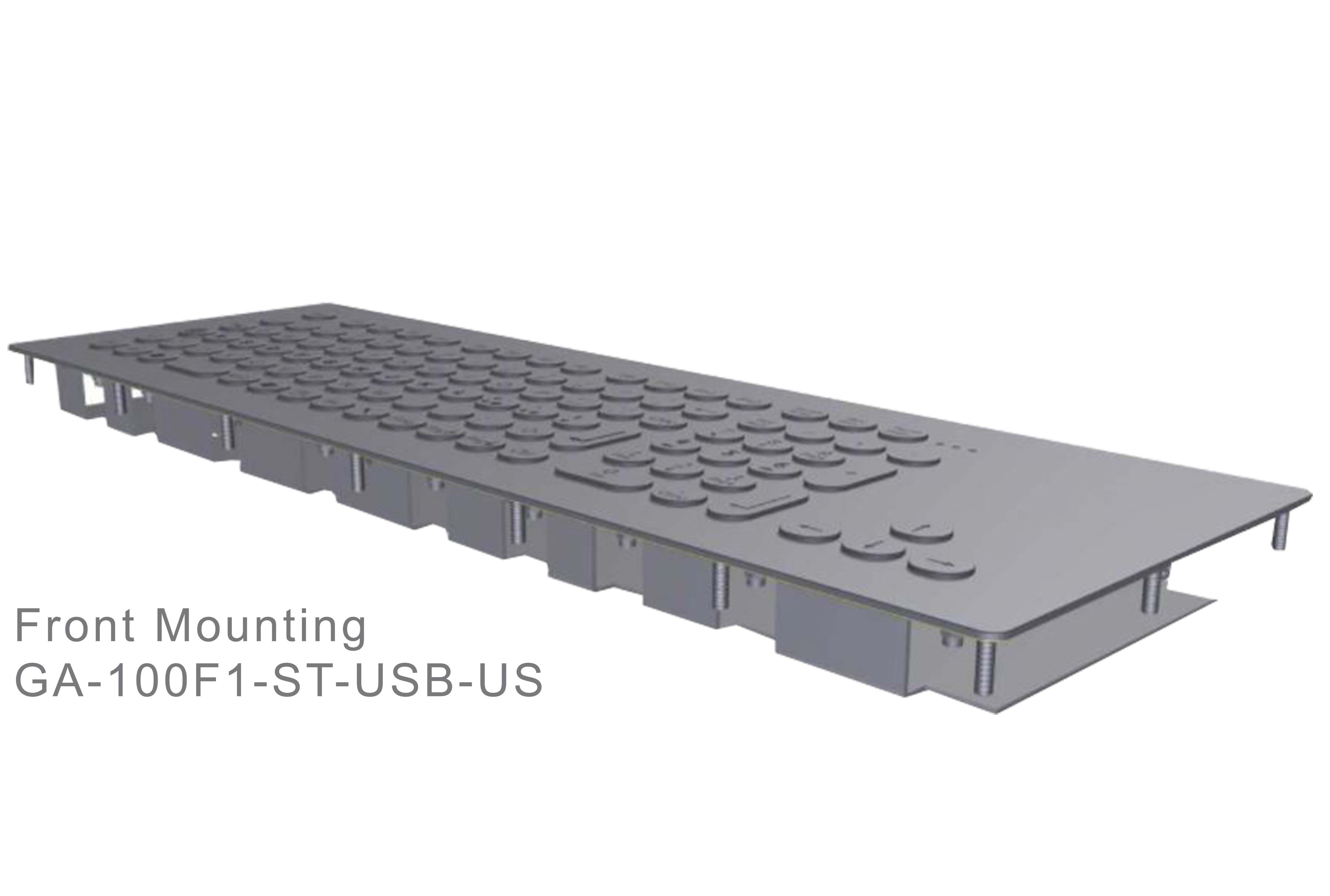 GA-Industrial-Italian Brand-100+Keys Front Mounting-L