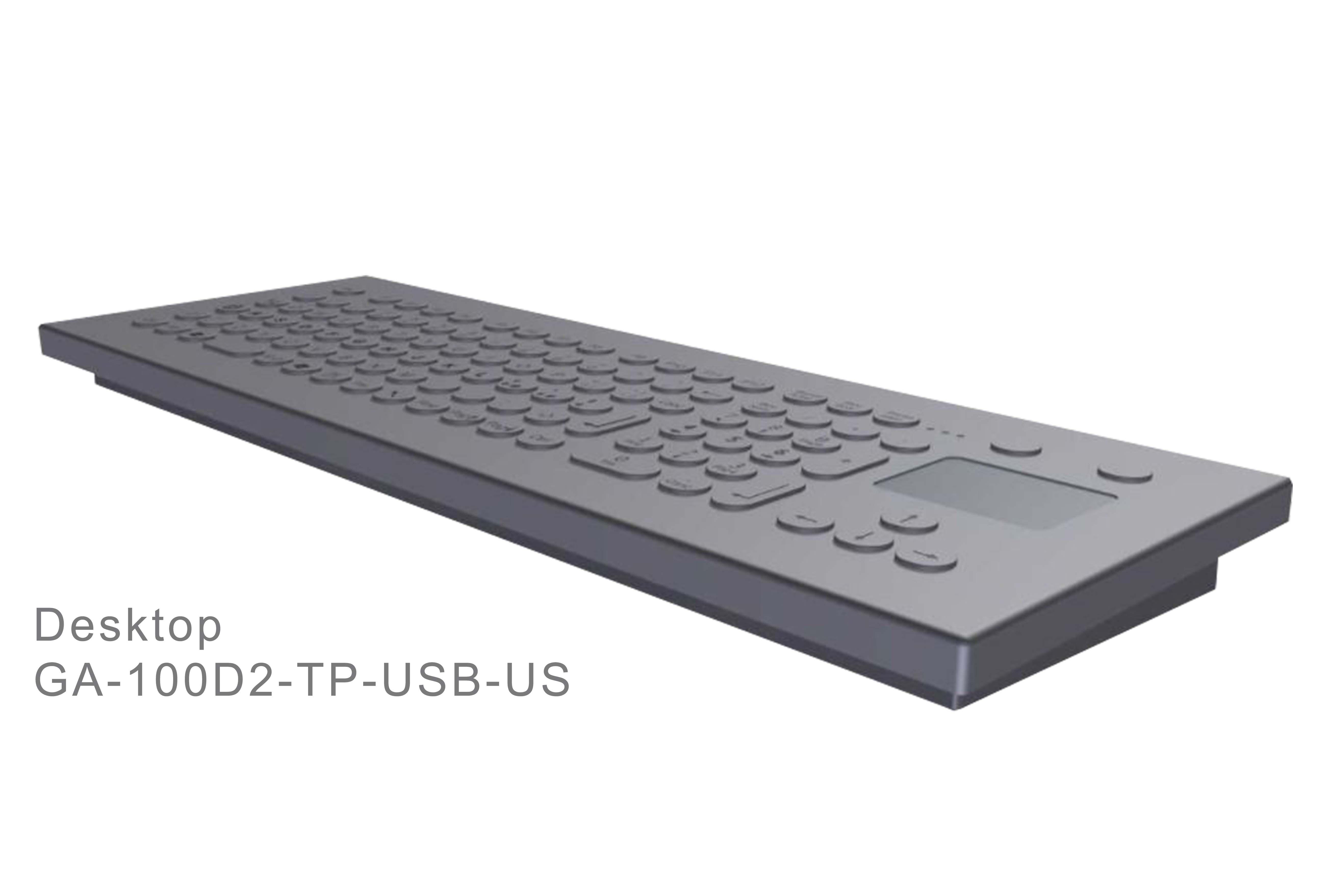 GA-Industrial-Italian Brand-100+Keys Touchpad Desktop-L