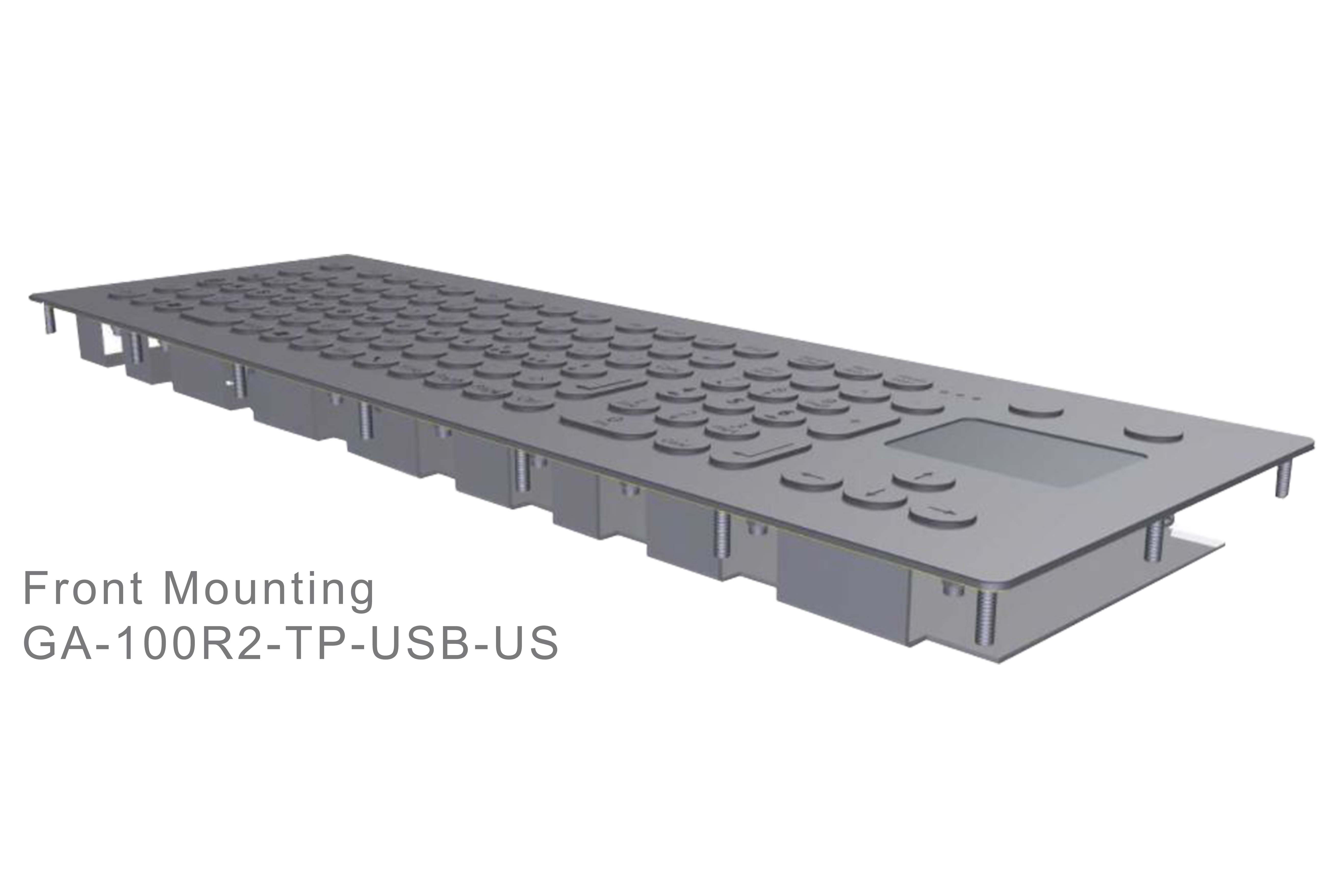 GA-Industrial-Italian Brand-100+Keys Touchpad Front Mounting-L