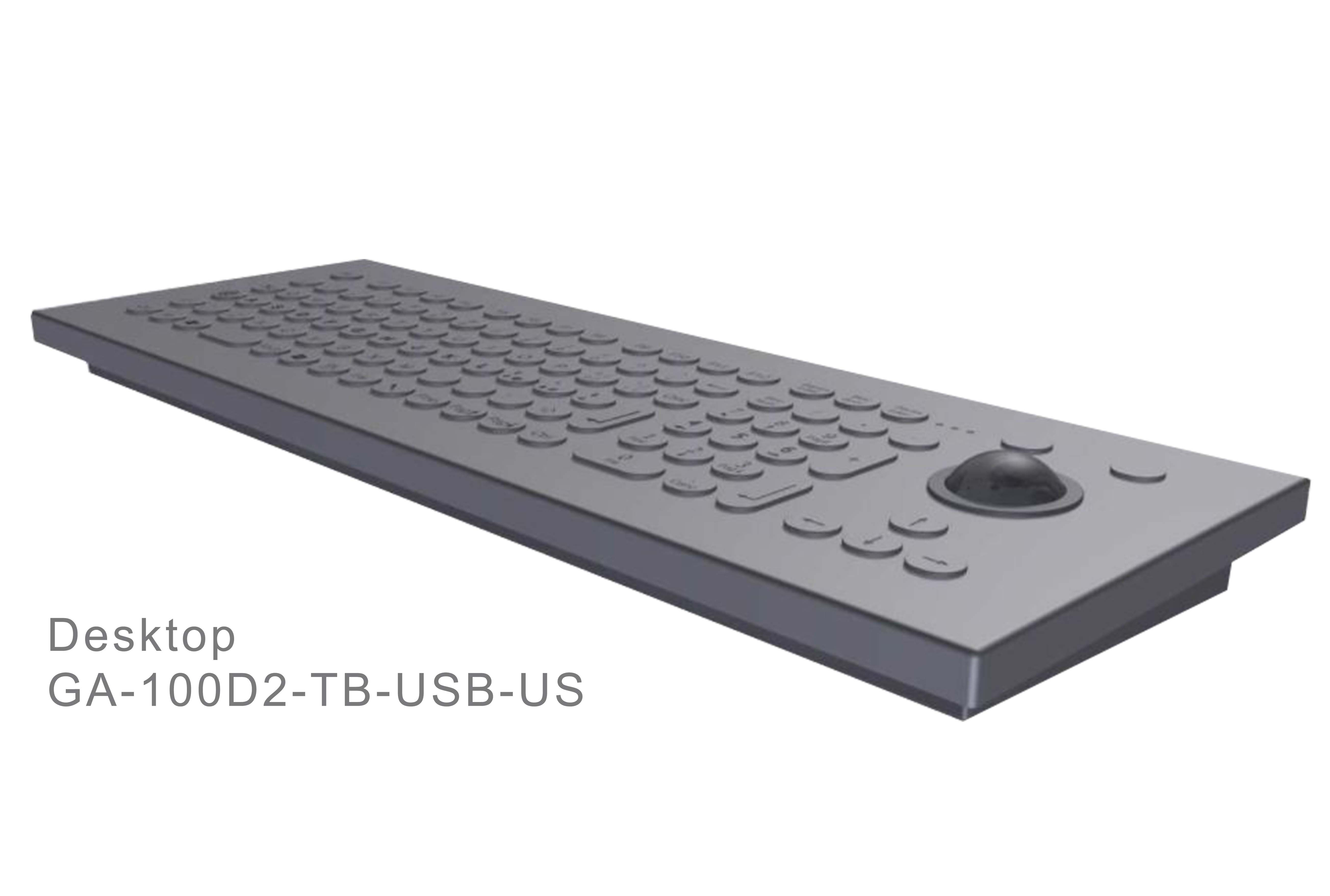 GA-Industrial-Italian Brand-100+Keys Trackball Desktop-L