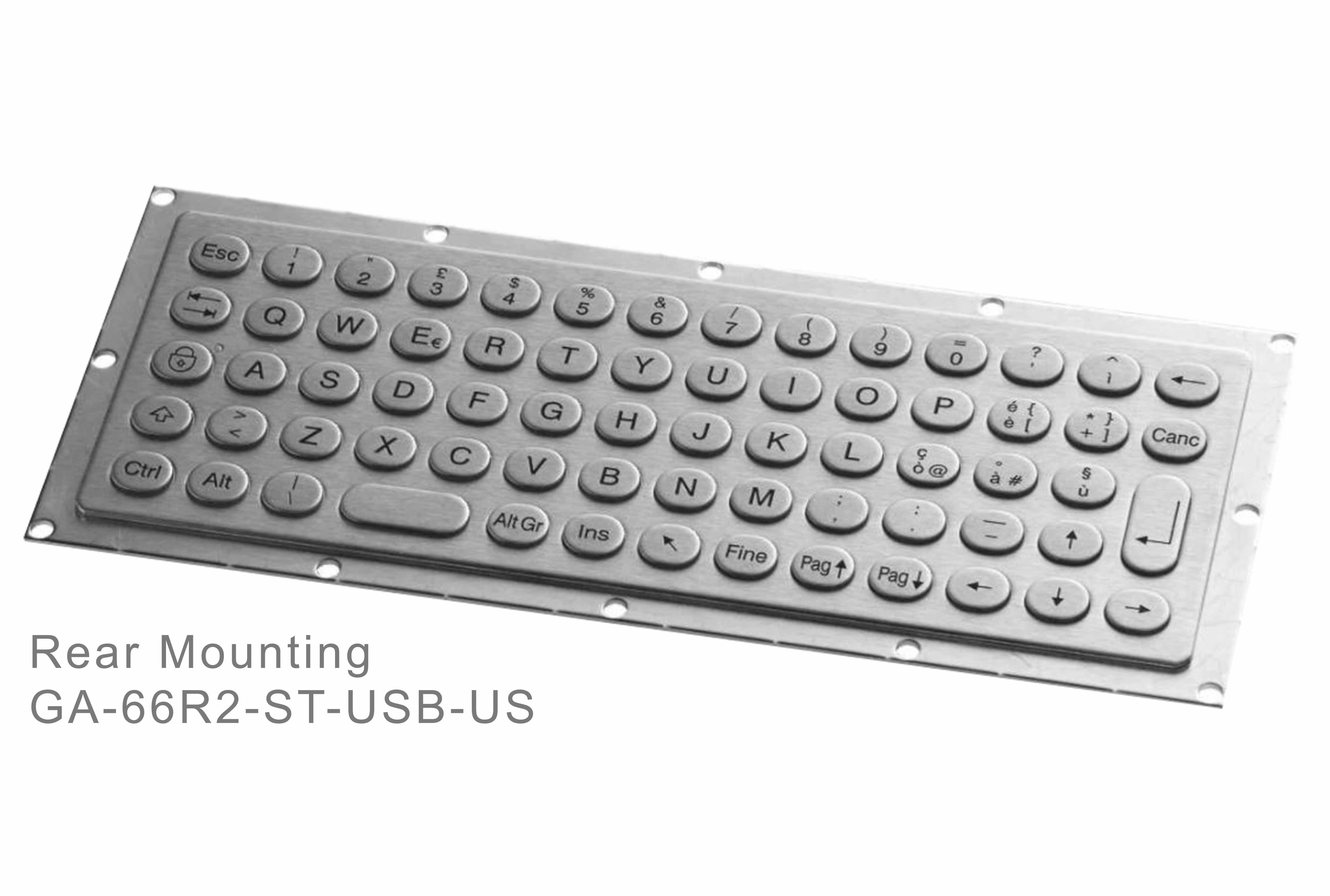 GA-Industrial-Italian Brand-60+Keys Rear Mounting-L