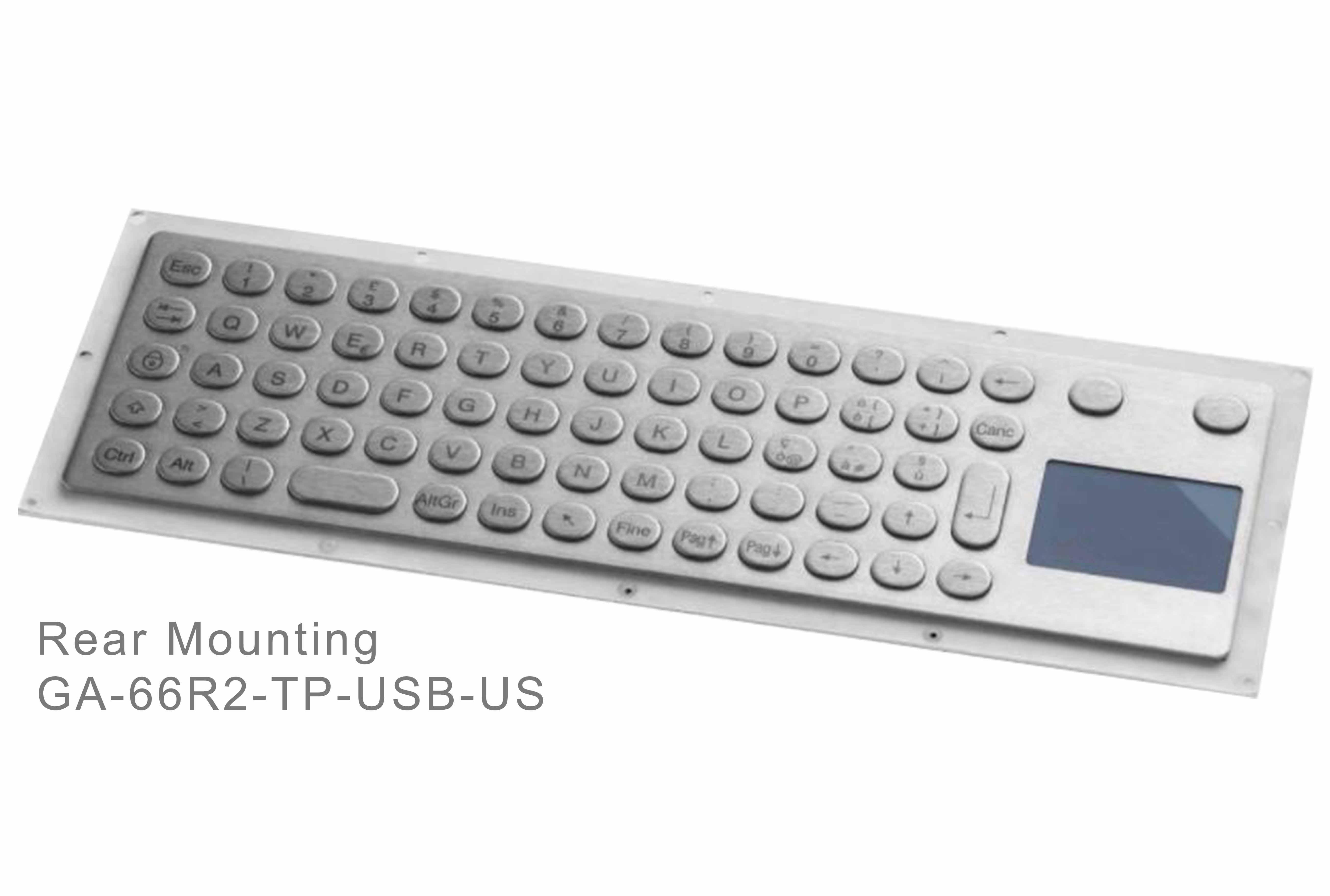 GA-Industrial-Italian Brand-60+Keys Touchpad Rear Mounting-L