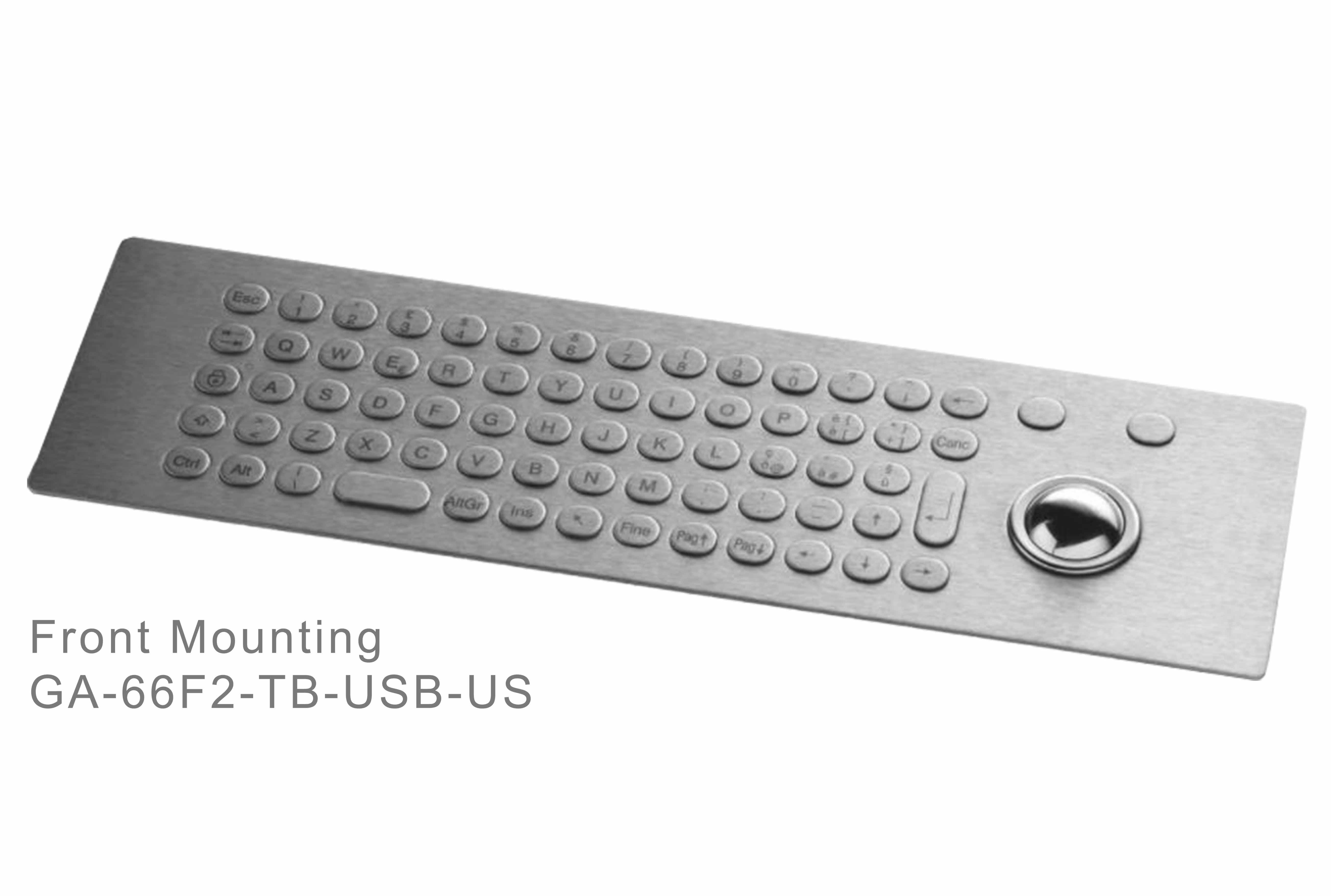 GA-Industrial-Italian Brand-60+Keys Trackball Front Mounting-L
