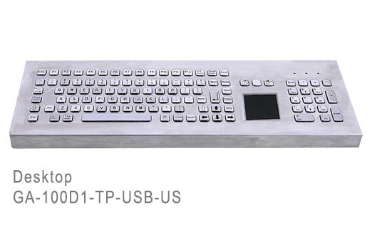 GA-Industrial-Competitive Range-100+Keys Touchpad Desktop