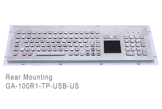 GA-Industrial-Competitive Range-100+Keys Touchpad Rear Mounting