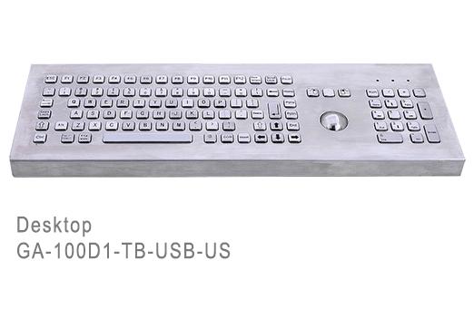 GA-Industrial-Competitive Range-100+Keys Trackball Desktop