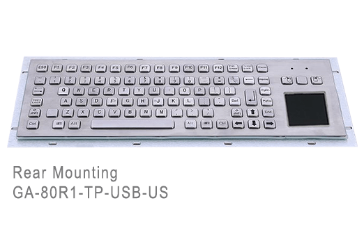 GA-Industrial-Competitive Range-80+Keys Touchpad Rear Mounting
